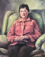 """<h5><em>Dorothy Liddle</em> <strong>•</strong> 16"""" x 20"""" oil on canvas</h5>"""