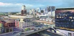 """<h5><em>Nashville 2016</em> <strong>•</strong> 48"""" x 24"""" oil on canvas</h5>"""
